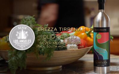 Brezza Tirrena Olio Presto Wins Silver in Los Angeles!