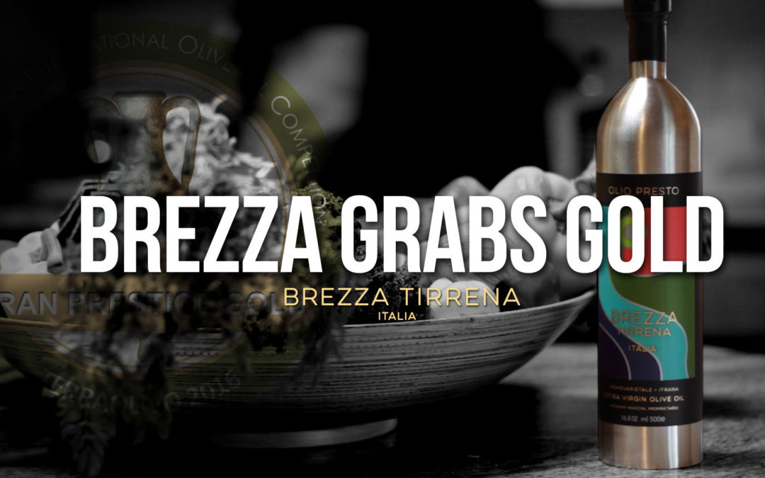 Brezza Tirrena Wins Grand Prestige Gold