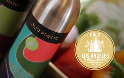Brezza Tirrena Olio Presto Wins Gold in Los Angeles!